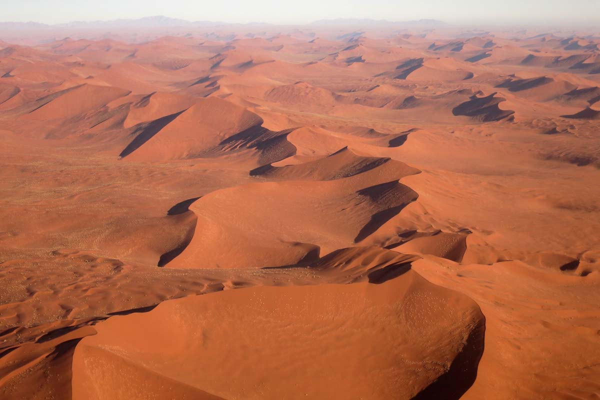Sossusvlei From The Air